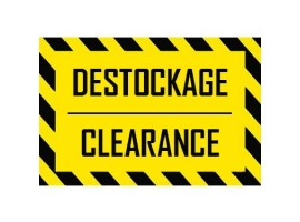 Destockage/Clearance