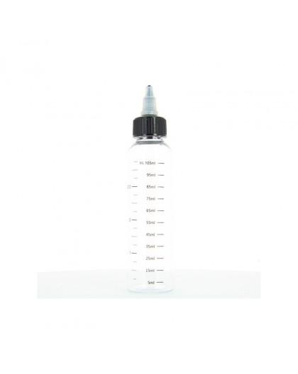 Empty flask with 120ml graduation
